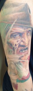 Robert Englund Tattoo Archive 479