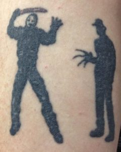 Robert Englund Tattoo Archive 482