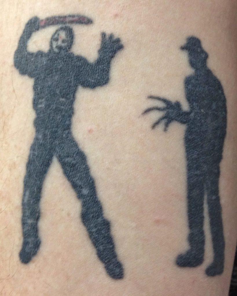 Robert Englund Tattoo Archive 482