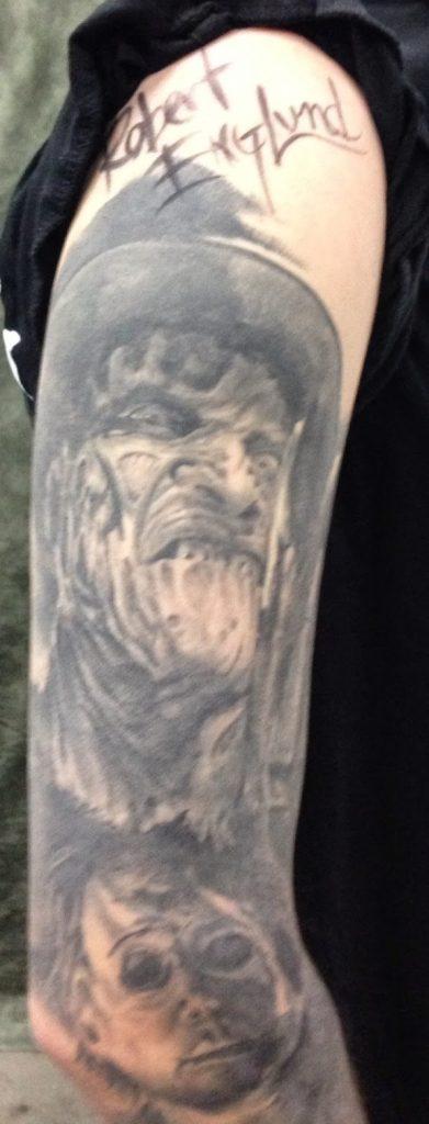Robert Englund Tattoo Archive 483