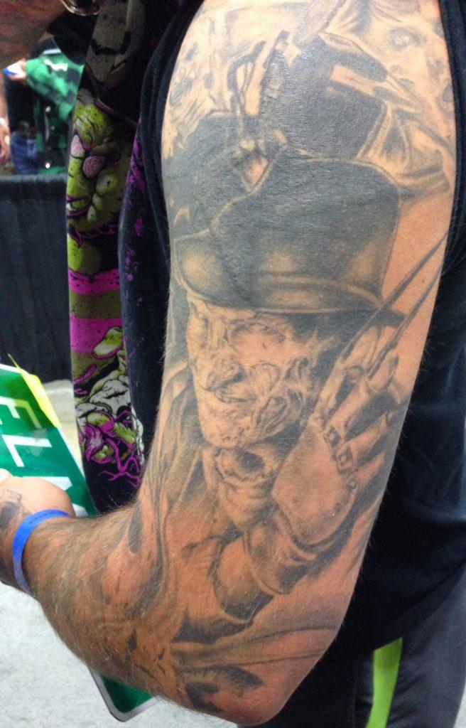 Robert Englund Tattoo Archive 485