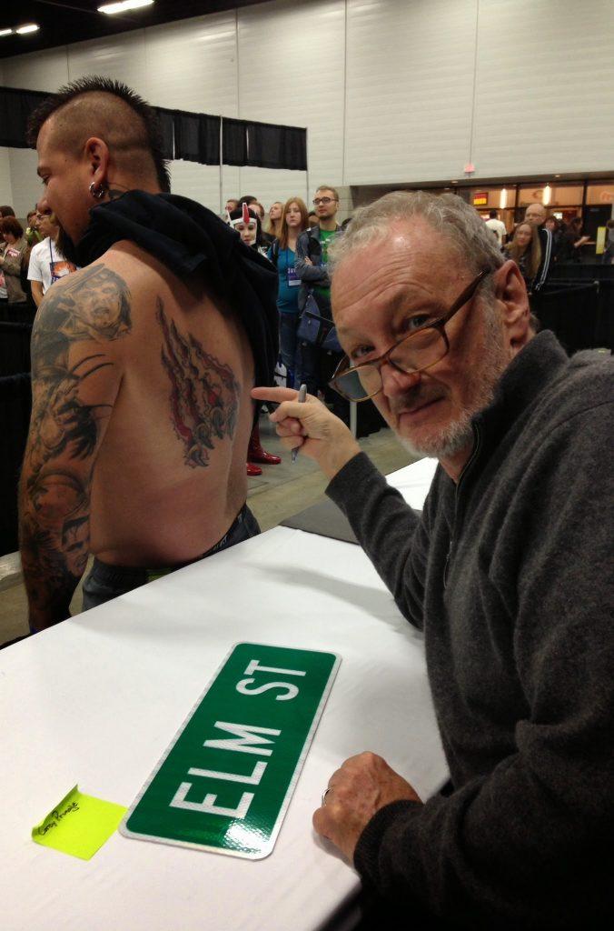 Robert Englund Tattoo Archive 487