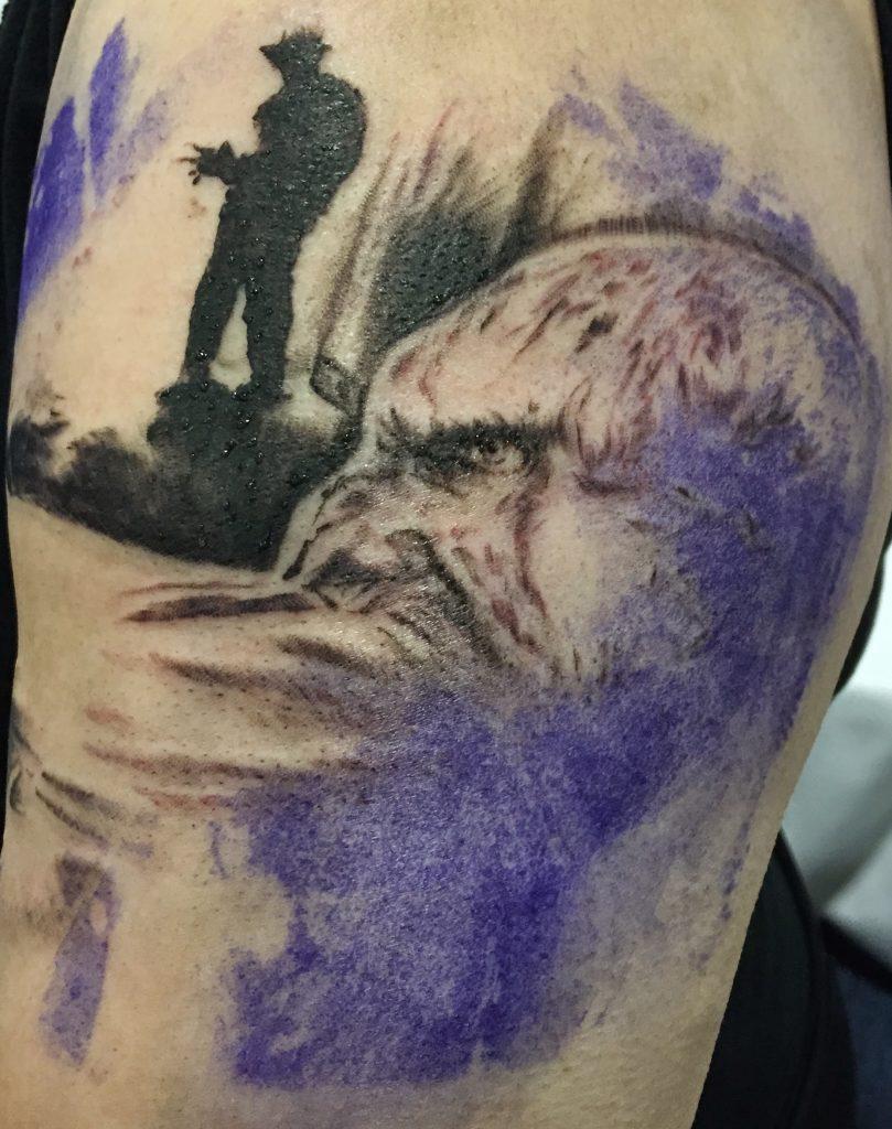 Robert Englund Tattoo Archive 491