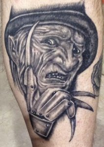 Robert Englund Tattoo Archive 492