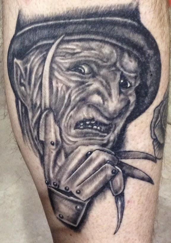 Robert Englund Tattoo Archive 492