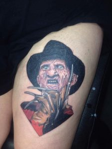 Robert Englund Tattoo Archive 495