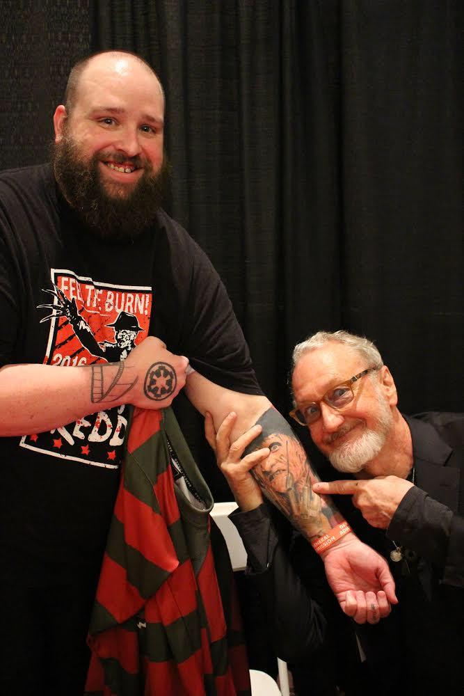 Robert Englund Tattoo Archive 500
