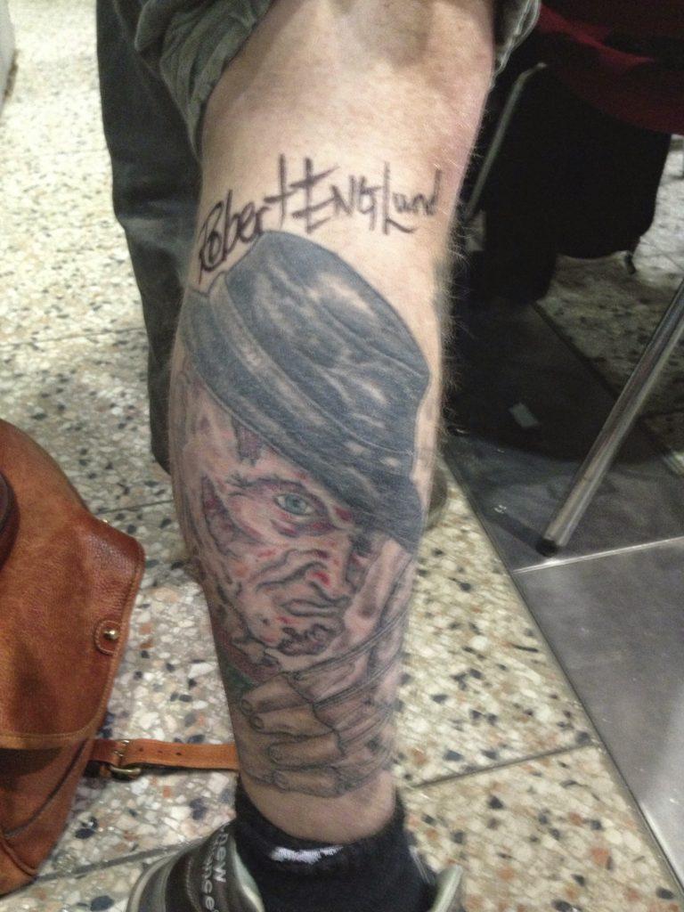Robert Englund Tattoo Archive 513