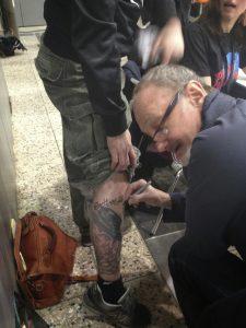 Robert Englund Tattoo Archive 514