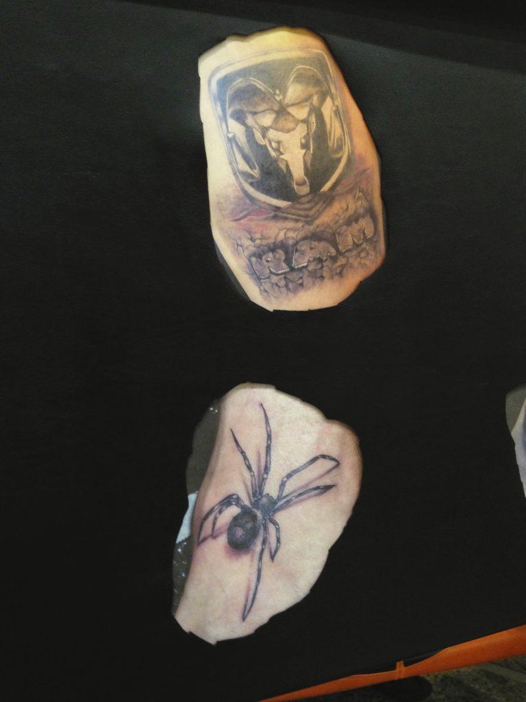 Robert Englund Tattoo Archive 515