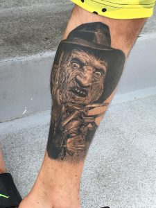 Robert Englund Tattoo Archive 521