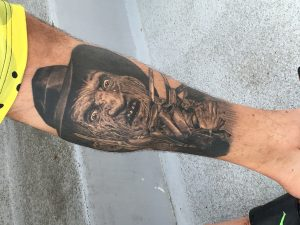 Robert Englund Tattoo Archive 520