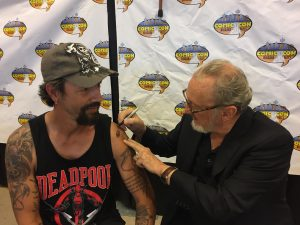 Robert Englund Tattoo Archive 525