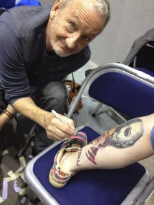 Robert Englund Tattoo Archive 530