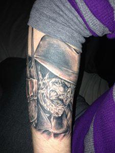 Robert Englund Tattoo Archive 531
