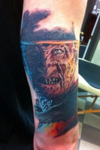 Robert Englund Tattoo Archive 534