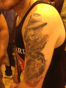 Robert Englund Tattoo Archive 533