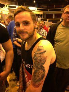 Robert Englund Tattoo Archive 535