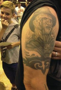 Robert Englund Tattoo Archive 536