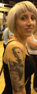 Robert Englund Tattoo Archive 540