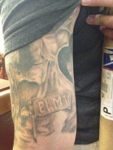 Robert Englund Tattoo Archive 542