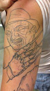 Robert Englund Tattoo Archive 548