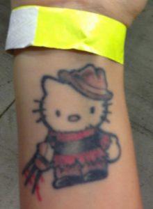 Robert Englund Tattoo Archive 550