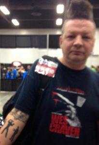 Robert Englund Tattoo Archive 553