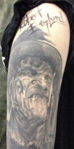 Robert Englund Tattoo Archive 554