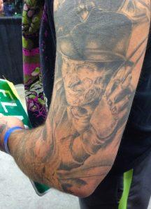 Robert Englund Tattoo Archive 555