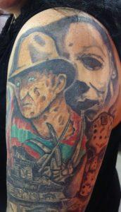 Robert Englund Tattoo Archive 560