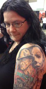 Robert Englund Tattoo Archive 561