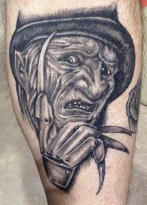 Robert Englund Tattoo Archive 562