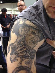 Robert Englund Tattoo Archive 563
