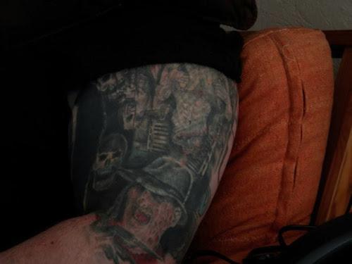 Robert Englund Tattoo Archive 899