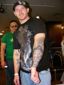 Robert Englund Tattoo Archive 099