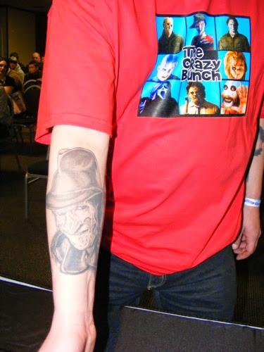 Robert Englund Tattoo Archive 105