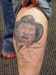 Robert Englund Tattoo Archive 088