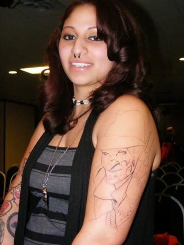 Robert Englund Tattoo Archive 089
