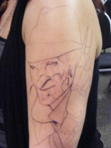 Robert Englund Tattoo Archive 090