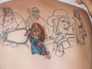 Robert Englund Tattoo Archive 091