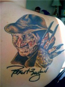Robert Englund Tattoo Archive 119