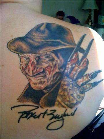 Robert Englund Tattoo Archive 119