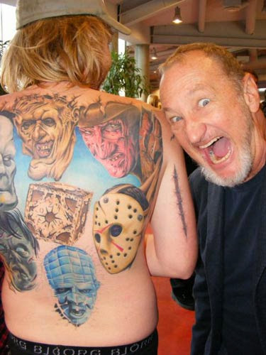 Robert Englund Tattoo Archive 186