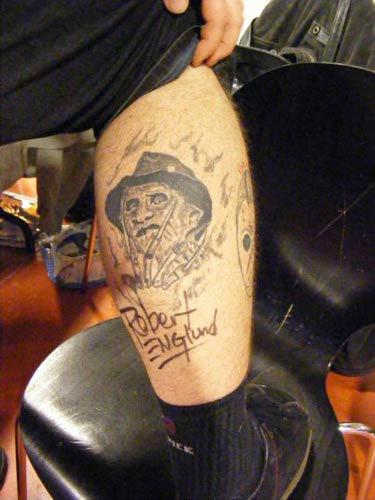 Robert Englund Tattoo Archive 184