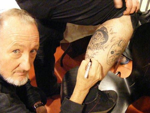Robert Englund Tattoo Archive 185