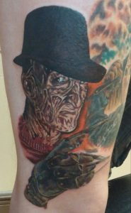 Robert Englund Tattoo Archive 424