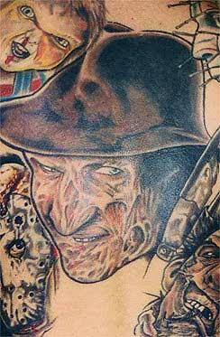 Robert Englund Tattoo Archive 427