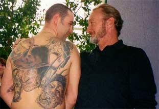 Robert Englund Tattoo Archive 426