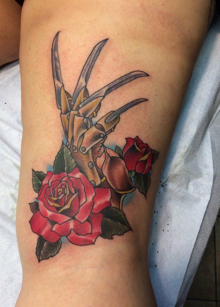 Robert Englund Tattoo Archive 442